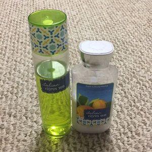 Bath and Body Works Italian Citrus Sun